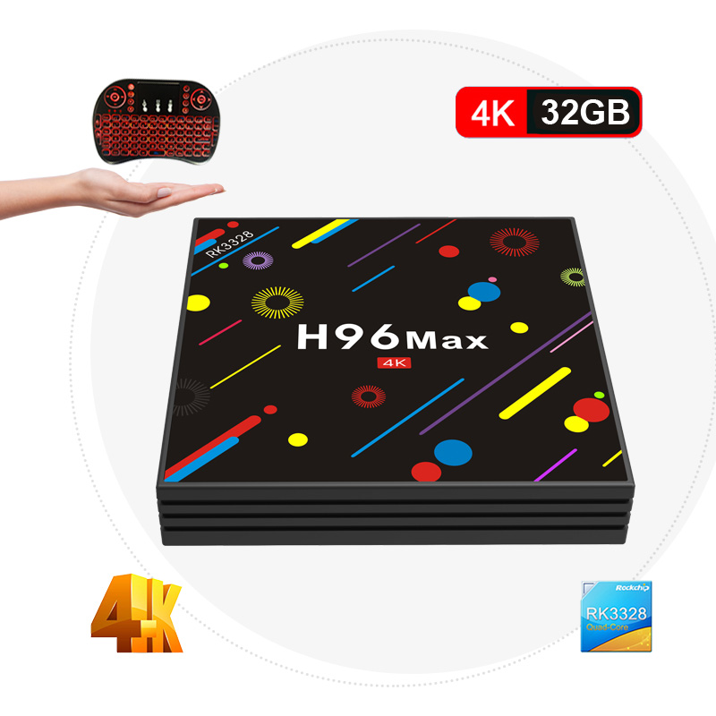 H96 MAX H2 TV Box Android 7.1 4GB 32GB RK3328 Quad Core 4K VP9 HDR10 USB3.0 WiFi Bluetooth 4.0 Set Top TV Box PK X96 X92 satxtrem h96 max h2 android 7 1 tv box 4gb 64gb rk3328 quad core 4k vp9 hdr10 usb3 0 wifi bluetooth 4 0 media player pk x92 x96
