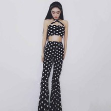 New Bar Female Singer DjDS Costumes Retro Stage Wear Photogr