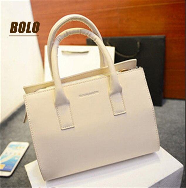 Леди стиль! Женщины женщин сумки искусственная кожа женщины сумки женская сумка bolsas 4 конфеты цвет мода мешок