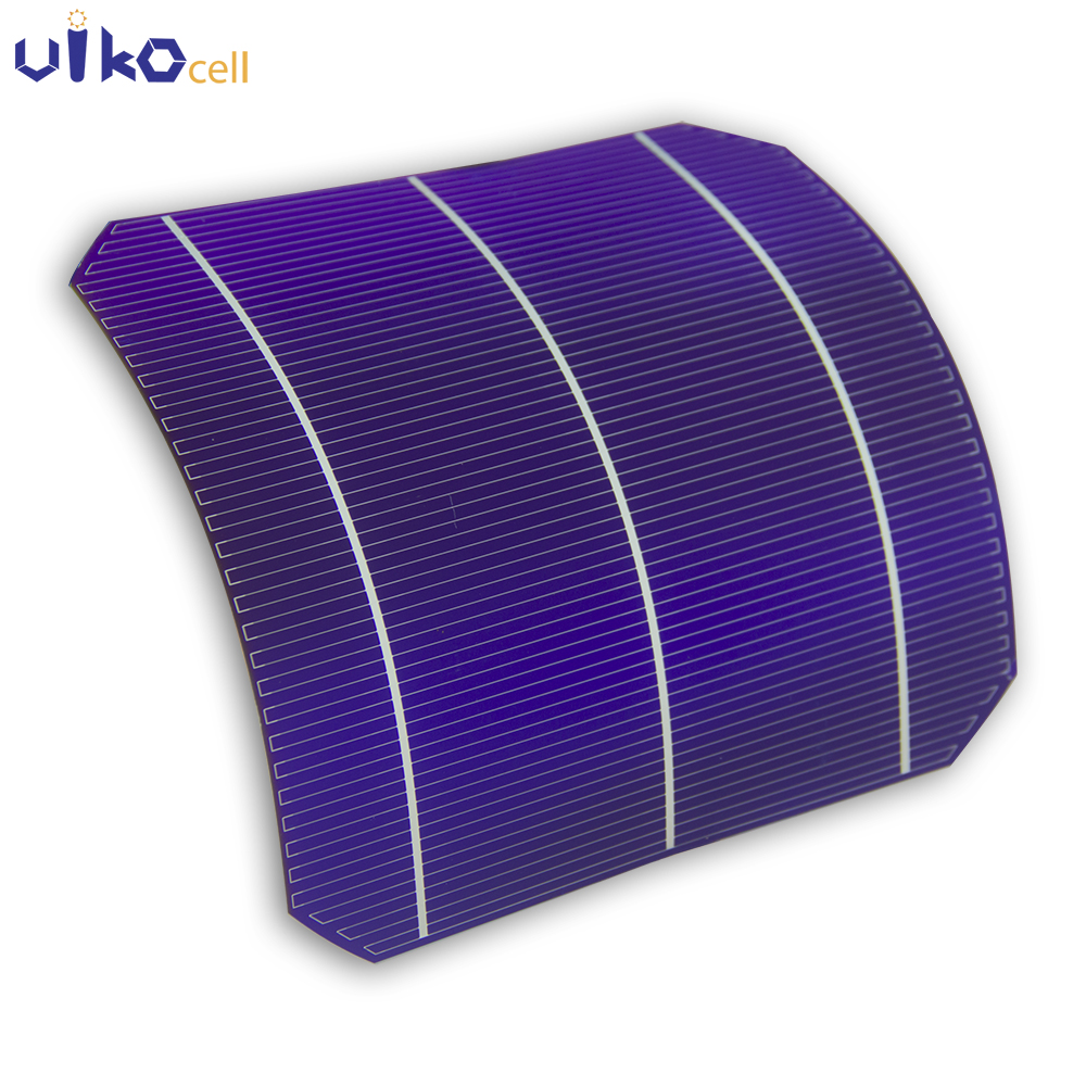 50Pcs Semi Flexible Solar Panel High Efficiency Grade A Sunpower Solar Cell Monocrystalline Solar Panels