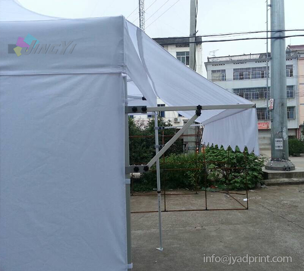 Cusotm Made Aluminum Folding Pop Up Tent Awning Fullcolor Printing