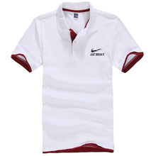 New Plus Size Brand Men's Polo Shirt Men Cotton Short Sleeve Shirt Classic Jerseys Men Tops Casual Stand Collar Male Polo Shirt(China)