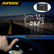 AUTOOL X230 Projector HUD Head Up Display Car Meter OBD2 Film Obd II Gauge Digital Auto Speedometer Projection Diagnosis Tool