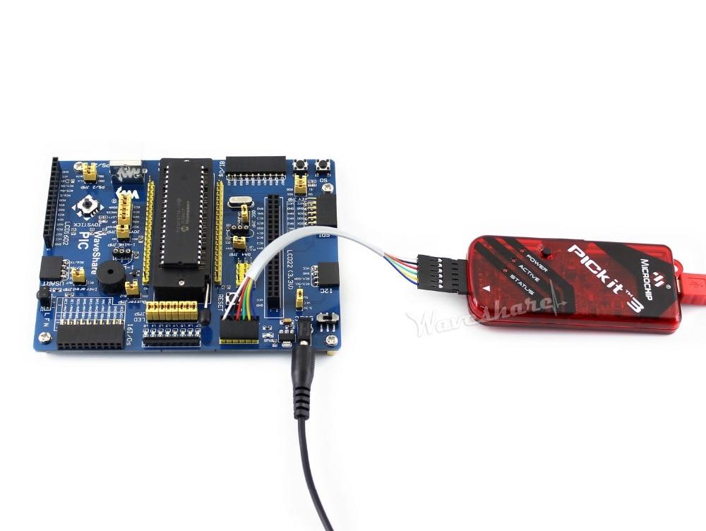 PICKit3 Programmer PIC Kit3 For Microchip Original Emulator Microchip Debugger