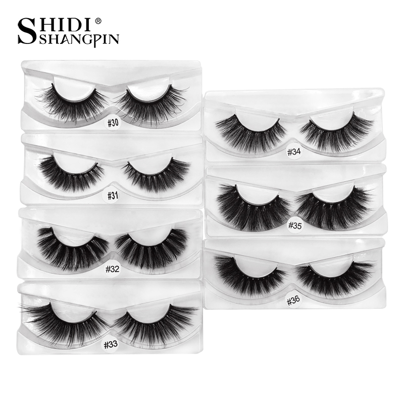 wholesale 100 pairs 3d mink lashes natural long false eyelashes makeup hand made fake eyelash mink eyelashes full strip lashes