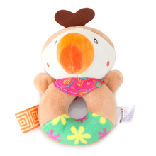 Bearoom Rattle Cute Toys For Baby Cartoon Puppy Dand Bell Musical Mobile Soft Learning Education Toy For Newborn 0-12 Months