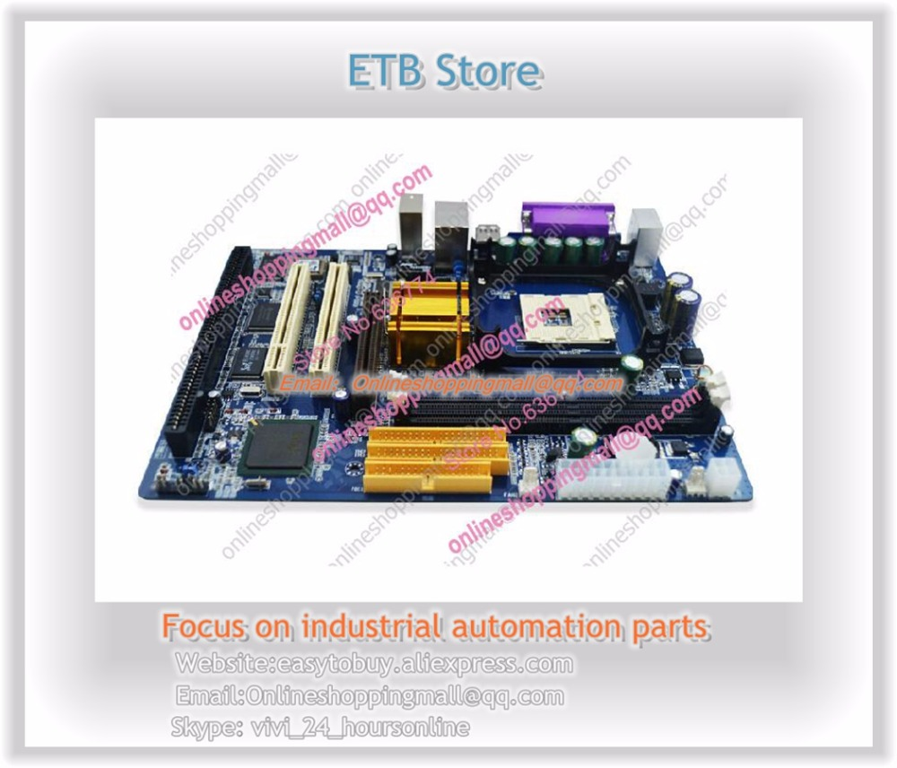 845GV Motherboard with 1 * ISA slots socket 478 onboard VGA SOUND LAN industrial motherboard New 1 year warranty tzn4h 24r new and original autonics ac100 240v temperature controller