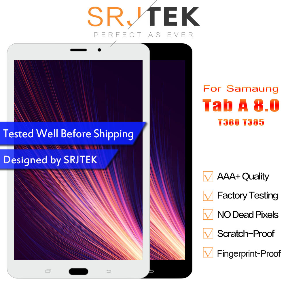 Matrix For Samsung Galaxy Tab A 8.0 2017 SM T380 SM T385 T380 T385 Touch Screen Digitizer Glass LCD Display Assembly Replacement-in Tablet LCDs & Panels from Computer & Office    1