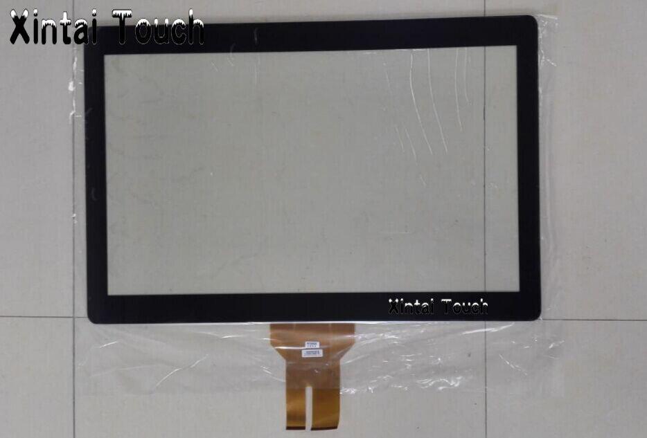 Бесплатная драйвер 27 usb емкостный Сенсорный экран 10 баллов pcap сенсорной панели наложения комплект с eeti Управление для киоск, ЖК дисплей мон