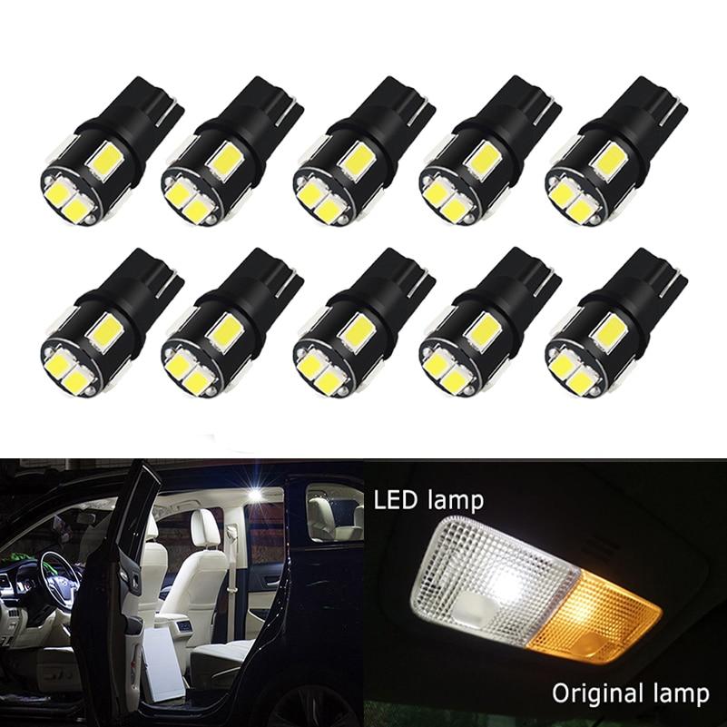 2 Audi A6 C6 2006-2011 Canbus Led Bulb T10 Xenon Error Free Side Light Parking