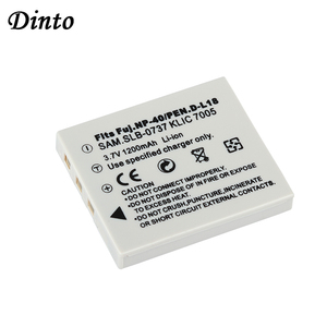 Dinto 1200mAh Camera Battery for Fujifilm NP-40N NP-40 NP 40 NP40 for BENQ DLI-102 PENTAX D-LI8 D-Li85 SLB-0737 KODAK KLIC-7005