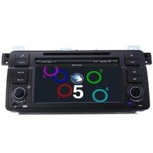 Samochód DVD GPS Odtwarzacz MP5 2.7 Cal 1 Din Radio Samochodowe Stereo WCE Odtwarzacz wideo Bluetooth Wifi AM/FM wbudowany Mikrofon dla BMW E46 1998