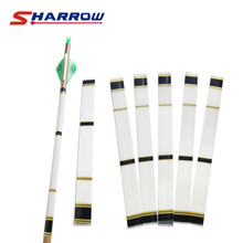 Sharrow 3 Pieces Archery Arrow Shaft Sticker For 8.3mm Skin In Shooting Hunting Sports