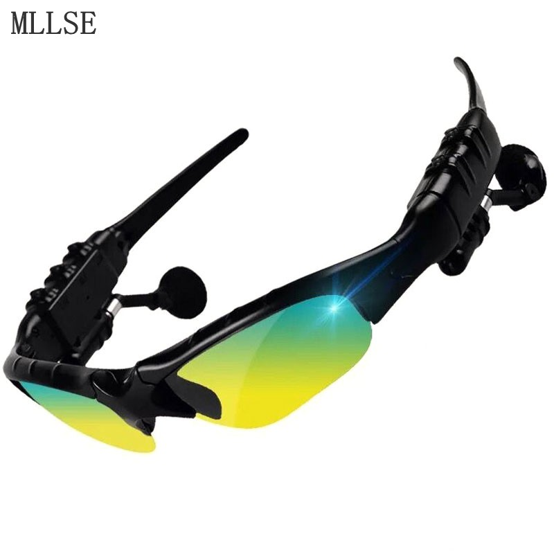 MLLSE Wireless Sunglasses Headphone Bluetooth Headphones Stereo Bluetooth Headset Wireless Earphone for Iphone Samsung Xiaomi рубашка modis modis mo044ewagrd2