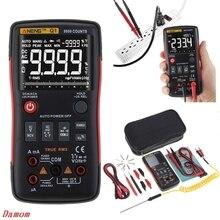 Профессиональный Q1 True-RMS цифровой мультиметр analogico multimetro ЭПР-метр mastech автоматическая кнопка 9999 граф Аналоговый гистограмма тестер