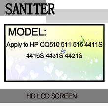 SANITER Apply to HP CQ510 511 515 4411S 4416S 4431S 4421S 14 inch reverse interface Laptop LCD Screen(China)