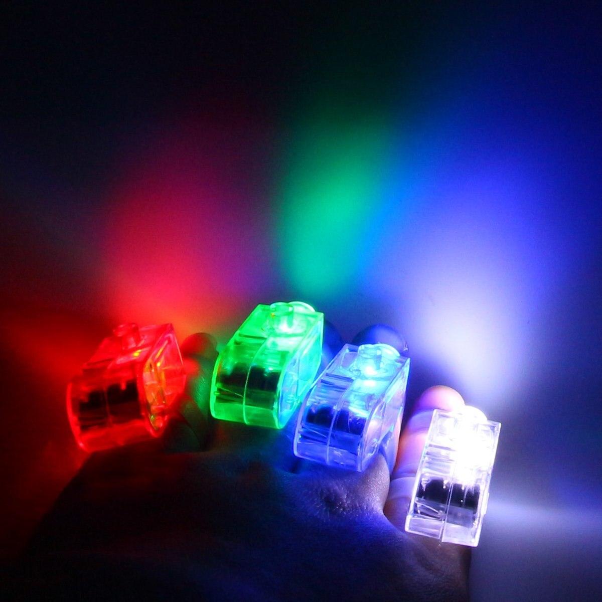 40 в 1 супер яркий палец лампа, светодиодные фонари пальцев, карнавал, освещения музыкальный фестиваль, партии, All Saints, Хэллоуин