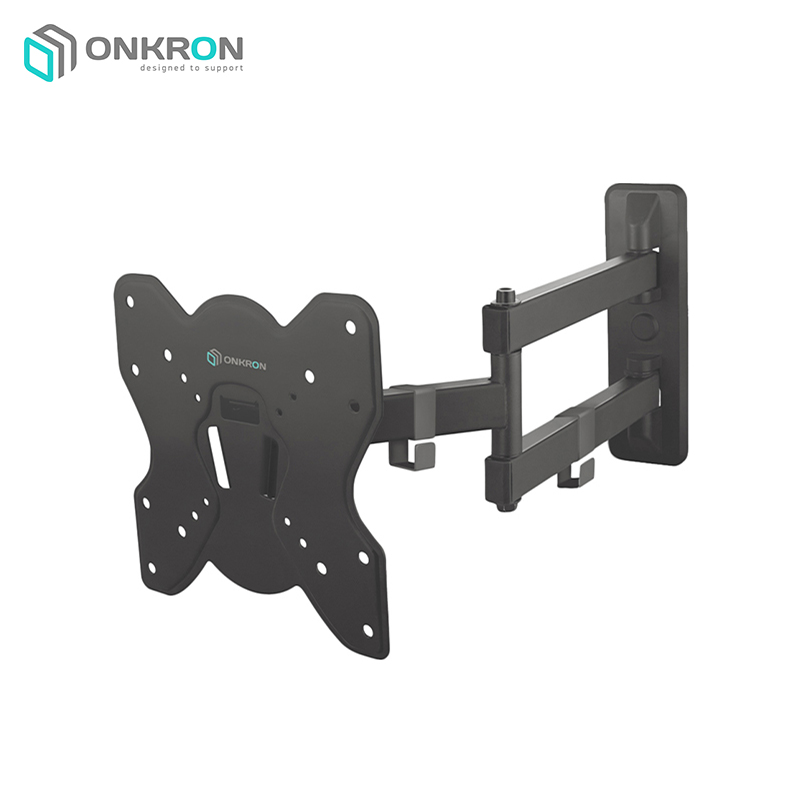 Obliquely-swivel bracket ONKRON BASIC M4S Black