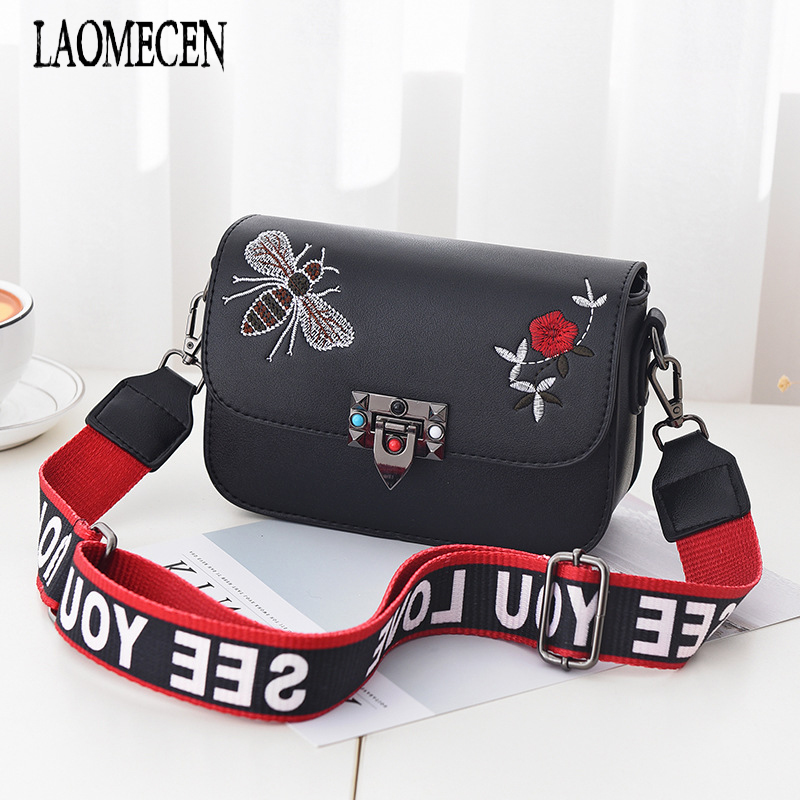 Brands Bags Clutch Female Crossbody Bags For Women Mini Valentine Bag Small Bee Embroidery Bag Women Stella Flap Handbags Sac