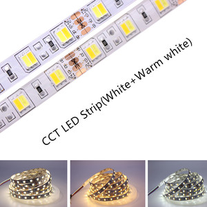 Image 2 - 5M 5050 SMD LED Strip RGB RGBW (RGB + สีขาว) RGBWW (RGB + WARM White) RGBCCT LED String Light 5 M/300 LEDs 12V 24V
