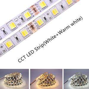 Image 2 - 5M 5050 SMD LED Strip RGB RGBW (RGB + White) RGBWW (RGB+Warm White) RGBCCT Flexible LED String light 5M/ 300 LEDs 12V  24V Home
