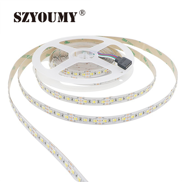 Szyoumy smd 3014 ip20 216ledsm non waterproof double white szyoumy smd 3014 ip20 216ledsm non waterproof double white temperature dimmable led strip light aloadofball Image collections
