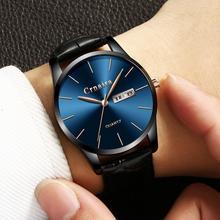 2019 Fashion Simple Chic Waterproof Quartz Watches for Men Clock Gift a Man
