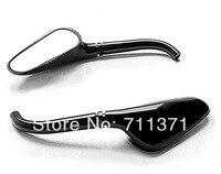 Black Golf Club Mirrors +Free Adapters For Yamaha Raider S XV 1900 XV1900