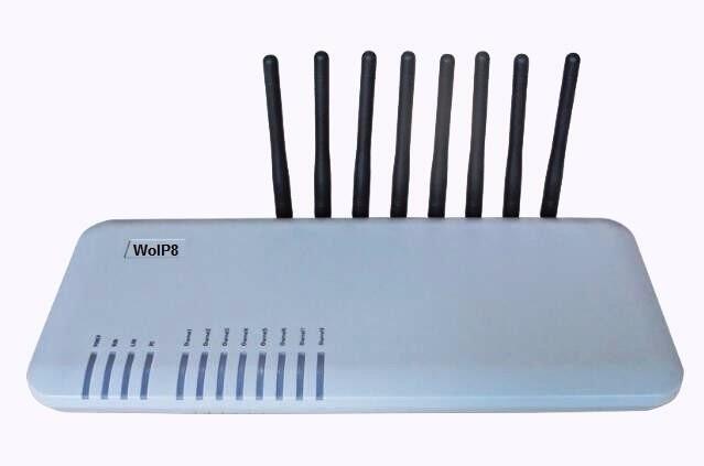 WOIP-8 WCDMA 3G GPRS EDGE 8-Ports GSM Gateway