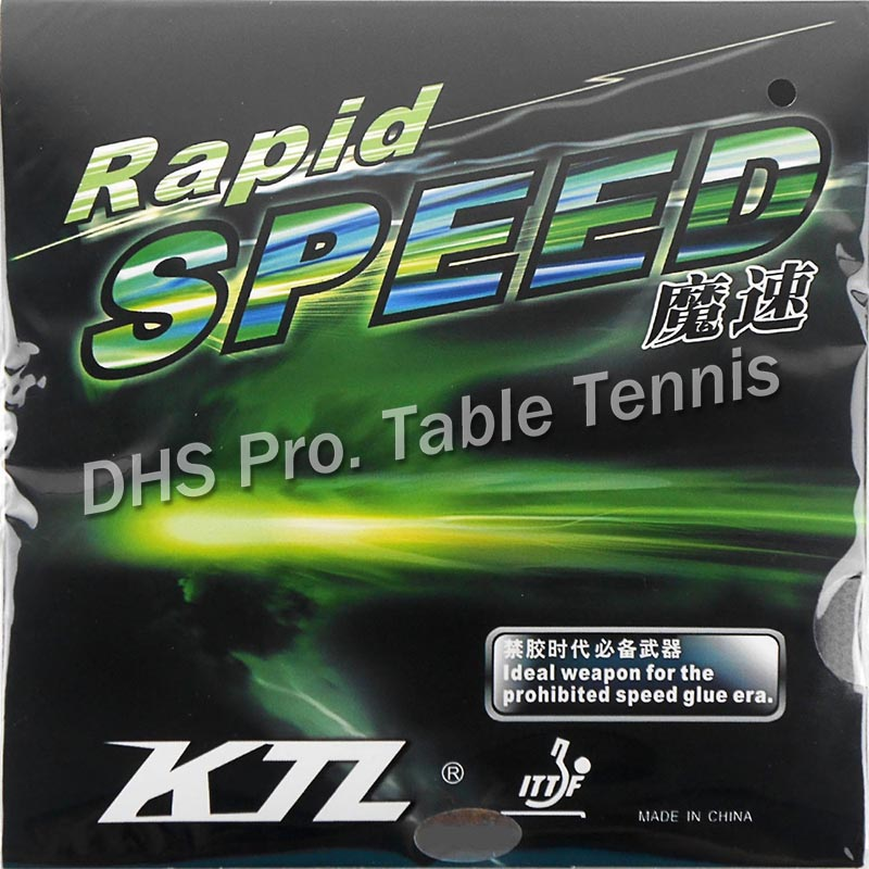 KTL Rapid SPEED  Pips-In Table Tennis Rubber With Sponge