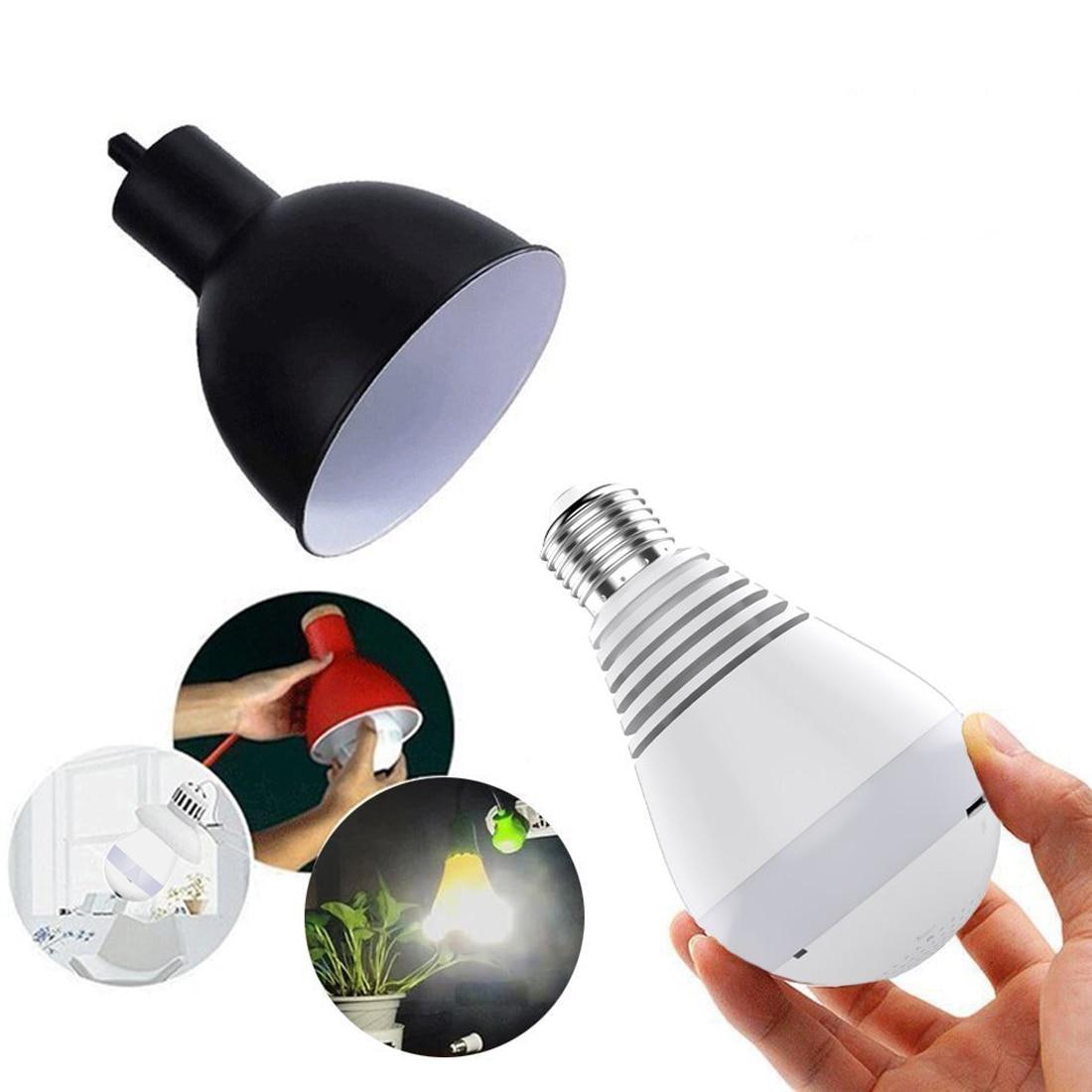 font b Wireless b font 960P 360 degree IP Camera Bulb Light FishEye Smart Home