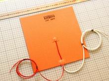 280×280 мм 600W @ 120 В Аутентичные Keenovo силиконовый нагревателя Pad для 3D-принтеры с подогревом, сборки плиты Нагревательный элемент бесплатная доставка