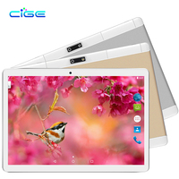 Free Shipping 10 Inch Tablet PC Android 4 4 Phone Call 4GB RAM Quad Core Dual