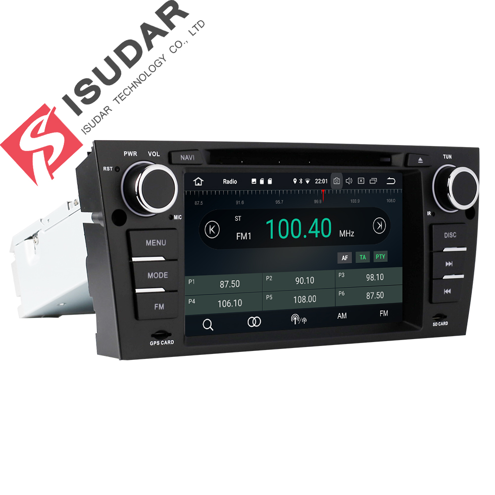 Isudar Car Multimedia Player Gps Android 8 0 For Bmw 3