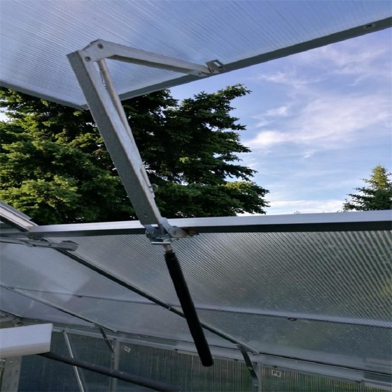 Automatic Agricultural Greenhouse Window Opener Solar Heat Sensitive Window Opener Invernadero Automatischer Fensteroffner #LO