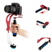 Steadycam Handheld Video Stabilizer Digital Compact Camera Holder Motion Steadicam For Canon Nikon Sony Gopro Hero Phone DSLR DV