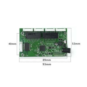 Image 4 - OEM PBC 8Port Gigabit Ethernet Switch 8Port with 8 pin way header 10/100/1000m Hub 8way power pin Pcb board OEM screw hole