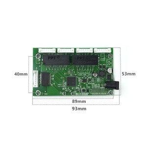 Image 4 - OEM PBC 8Port Gigabit włącznik ethernet 8Port z 8 pin way nagłówek 10/100/1000m centrum 8way power pin płytka drukowana OEM otwór na śrubę
