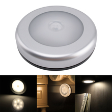 PIR Motion Sensor Under Cabinet Light Auto Smart Night Lamp Lampada LED