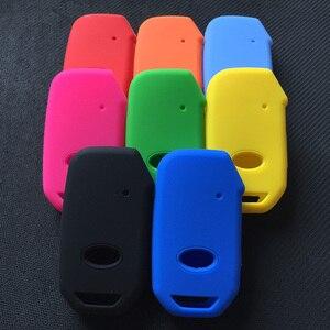 Kit de capa de silicone para chave de carro, kit de capa com carcaça de suporte para kia 2018 2019 sportage r stinger remoto proteger chave