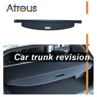 Atreus High Quality 1set Car Rear Trunk Security Shield Cargo Cover For Ford EcoSport 2012 2013 2014 2015 2016 accessories