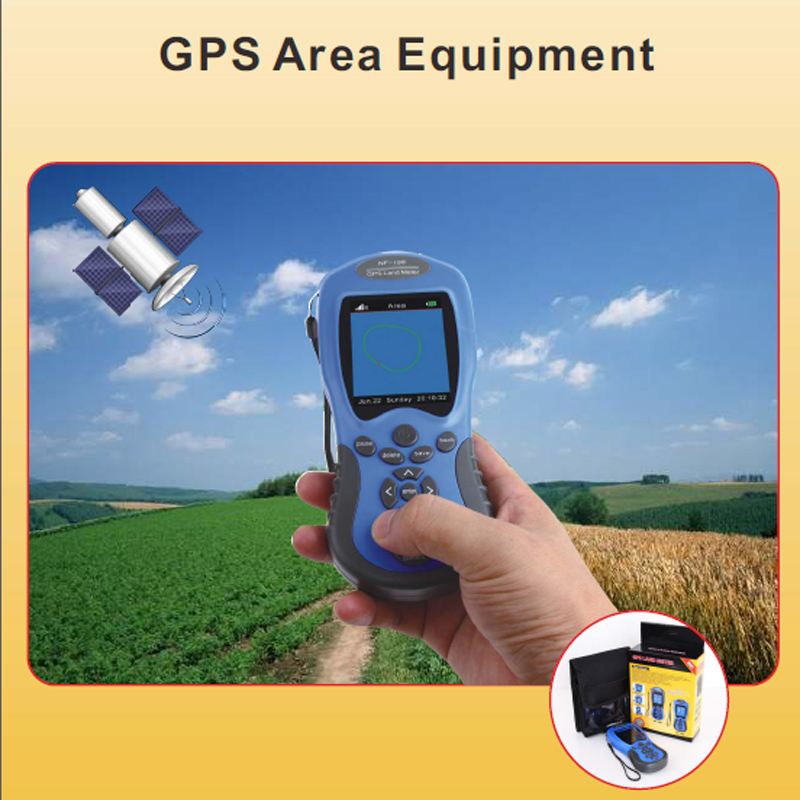 GPS Test Devices GPS Land meter Can display measuring value, figure track and automatically calculate price  measurement NF-198 sweetness test refractometer sugar measuring reader meter range 0 20