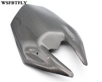 Carbon Fiber Windshield Fairing Windscreen For Kawasaki Z800 Z 800 2013 2014 2015