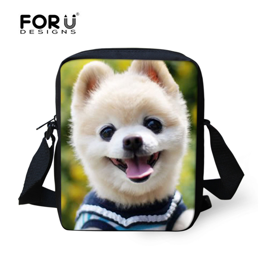 FORUDESIGNS Cute SHUNSUKE Twitter idol Dog Schoolbag for Kids Book Bag Kawaii Women Girls Messenger Bag Preschool Bag Gift Bags