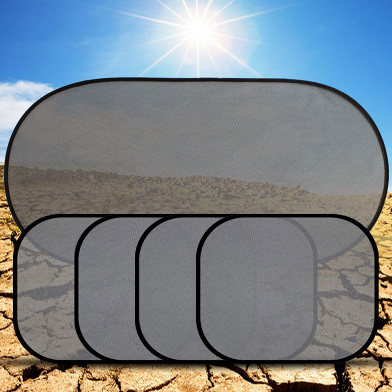 5 шт набор автомобиля боковая Солнцезащитная шторка Солнцезащитная сетка крышка козырек щит