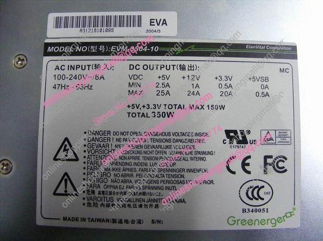 3504-10 Power Supply Power Supply entry module can replace IFRP-352 Power source