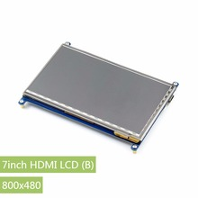 7.0 inch HDMI LCD Capacitive Touch Screen Display Touch Shield For Raspberry Pi 2 Model B (800*480) Banana Pi