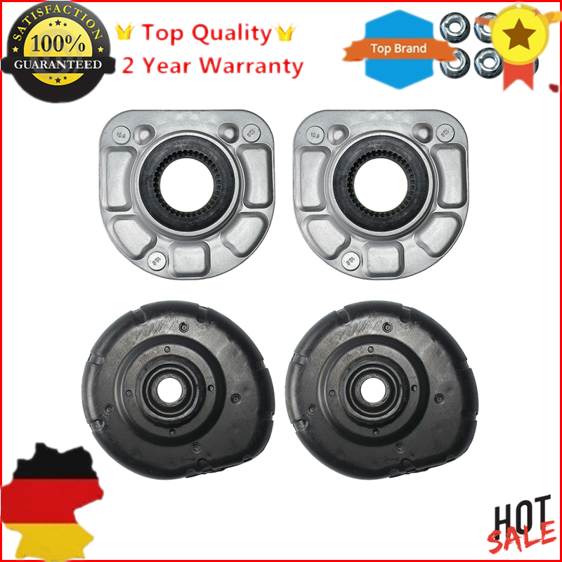 AP03 4pc Top Front Strut Mount L+R For VOLVO S80 S70 V70 II S60 XC70 XC90 850 30714968 30683637 Pair