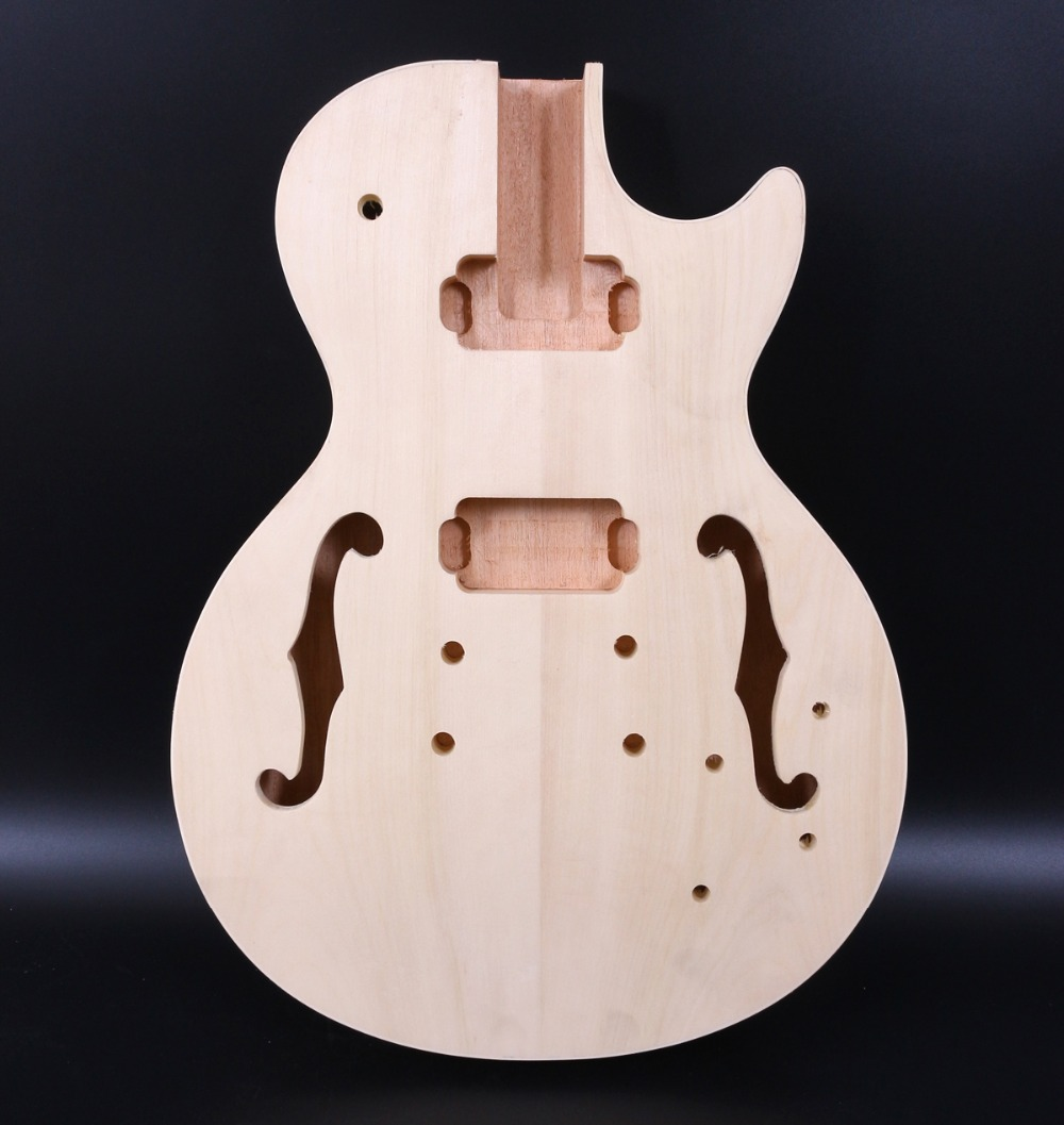 New Electric Guitar Body Replacement Mahogany Wood Guitar Body Electric Guitar Parts Accessory P90 Pickup high quality custom shop lp jazz hollow body electric guitar vibrato system rosewood fingerboard mahogany body guitar