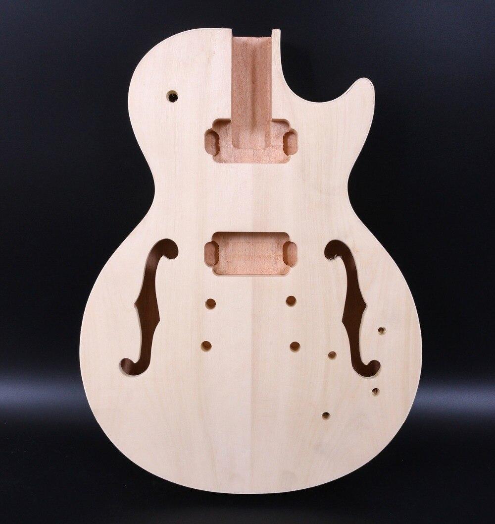 Nouvelle Guitare Électrique Remplacement Corps En Acajou Bois Corps de la Guitare Électrique Guitare Pièces Accessoire P90 Ramassage